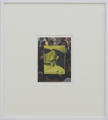 Casting unknown woman for My Neighbor The Countess Von Stauffenberg V, 2013, oil on paper, 29,3 x 22 cm