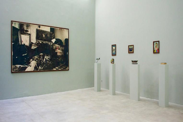 Debris, 2011; installation view at Monitor, Rome
