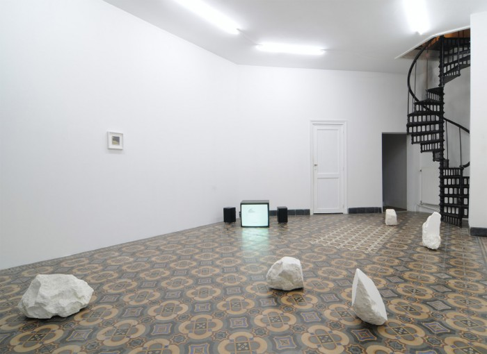 The Sculptor's Nightmare, 2011; installation view at Tulips & Roses, Brussels
