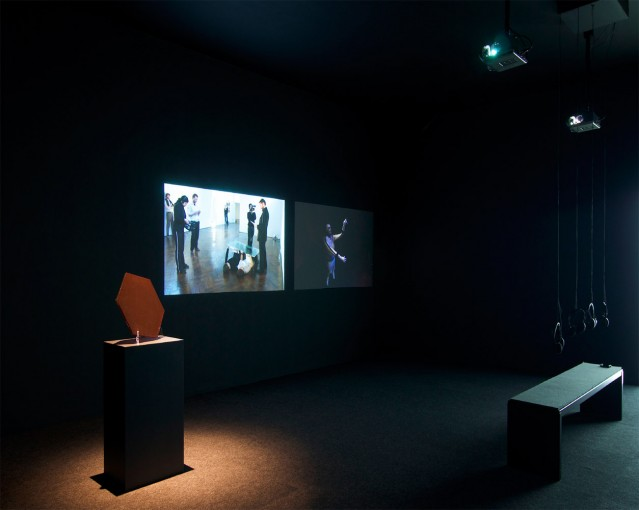 Hypercolon (with Chris Bloor); installation view at SMART Project Space, Amsterdam in 2011