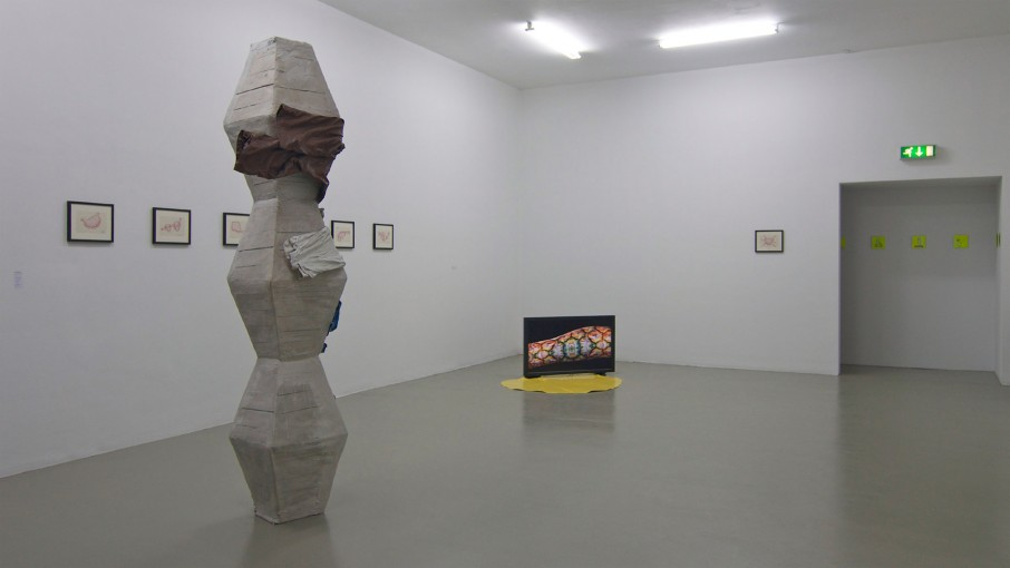 Hypercolon (with Chris Bloor), 2011; installation view at SMART Project Space, Amsterdam