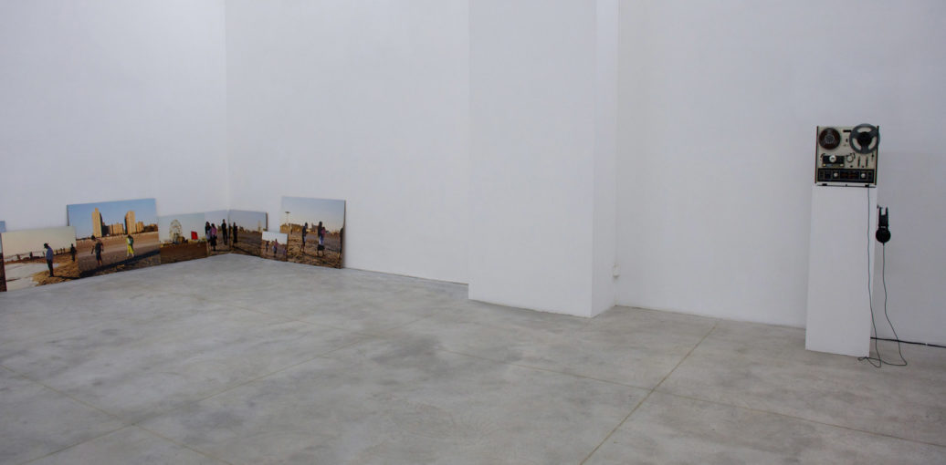 Tomorrow is the Question and Untitled (di un dio minore), 2010 Installation view at Monitor, Rome
