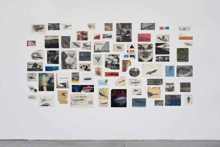 Arrangement of Forgotten Stories, 2008, oil on book covers; installation view at Castello di Rivoli for the T2 Triennale di Torino, Turin