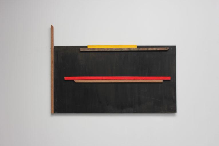Assembly Line, 2015 145 x 207 x 6 cm mdf, wood, acrylic