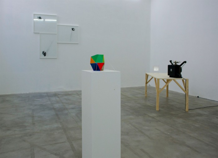 A Battle for Narrative, 2011, installation view at Monitor, Rome