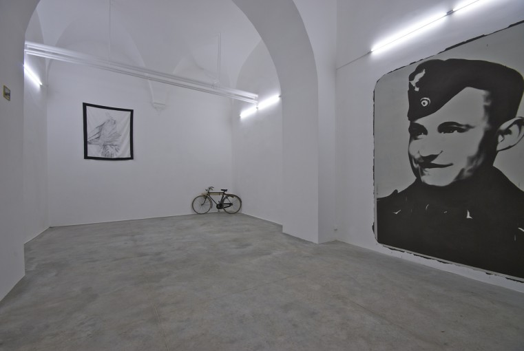 Without a Glimmer of Remorse, 2009; installation view at Monitor, Rome