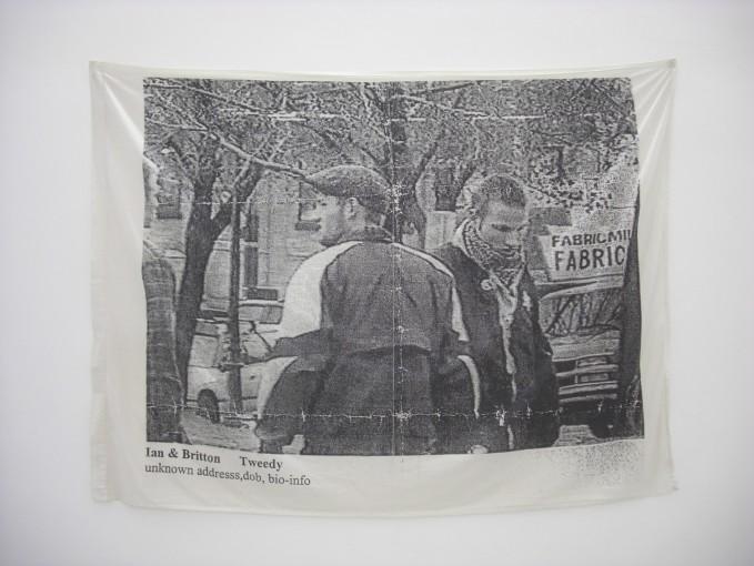 Ian & Britton Tweedy, unkown address, dob, bio-info, 2008, light jet orint on linen, cm 125x225