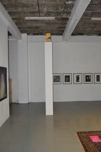 Breakfast of Mankind; 2012; installation view at Forde, Geneva