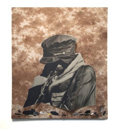 Bust, 2013, oil on canvas, 11,5 x 131,5 cm