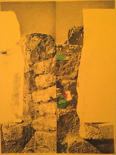 Ian Tweedy, Fragment Study VI, 2015, ink on canvas, 101 x 76 cm