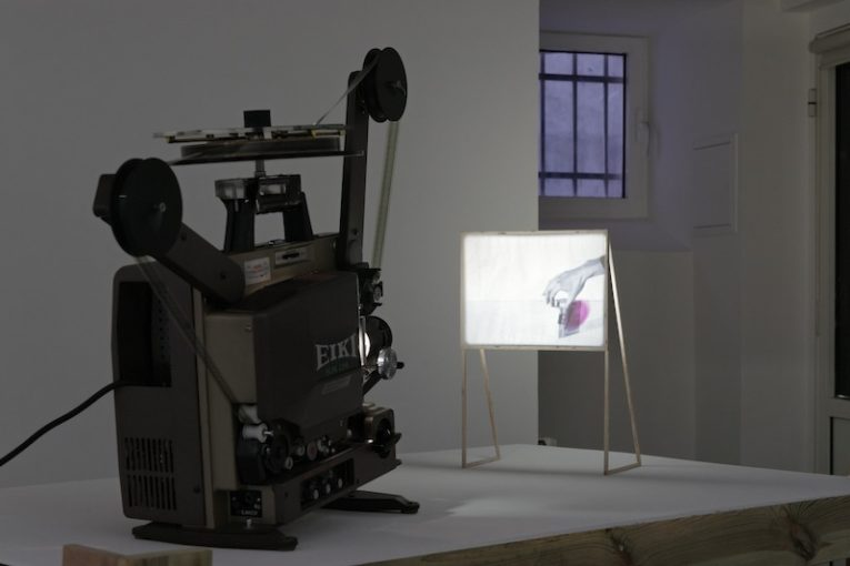 Composing a Battle for Narrative, 2011. Installation view at Kadist Art Foundation, Paris