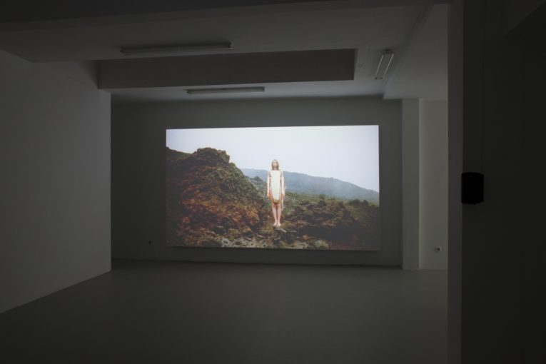 Gonda, 2012, 16mm on HD, 29'54''; installation view at Juliette Jongma, Amsterdam