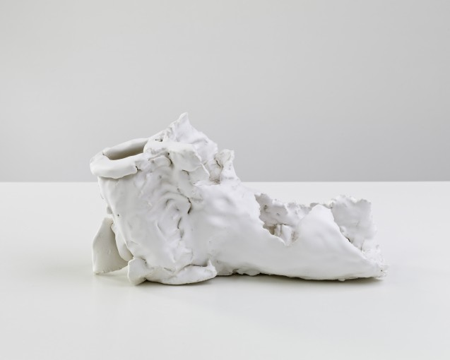 Dead Man's Shoe, 2012, fired and glazed ceramic, 17.5 x 30.5 x 10.5 cm