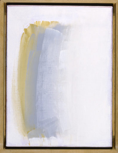 Claudio Verna, Idea n.29, 1994, oil on canvas, 40 x 30 cm