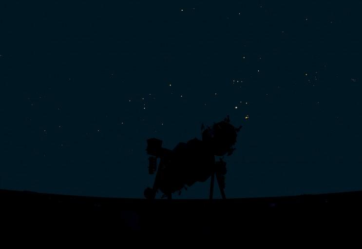 Minolta Planet Arium ms-15, Memphis, 2011, colour photograph, 114 x 164 cm