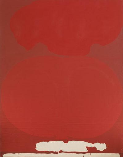 Duane Zaloudek, Milarepa VII, 1968, acrylic on canvas, 177,8 x 228,6 cm