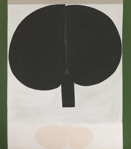 Duane Zaloudek, Milarepa XV, 1965, oil on canvas,152 x 172,7 cm