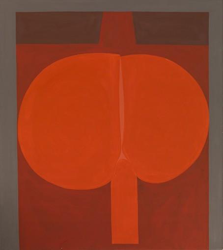 Duane Zaloudek, Milarepa VIII, 1965-66, acrylic on canvas, 152 x 172,7 cm