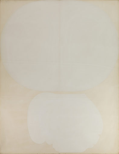 Duane Zaloudek, Four, 1969, oil on canvas, 223,5 x 152 cm