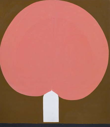 Duane Zaloudek, Milarepa XX, 1966, acrylic on canvas, 152,4 x 172,7 cm