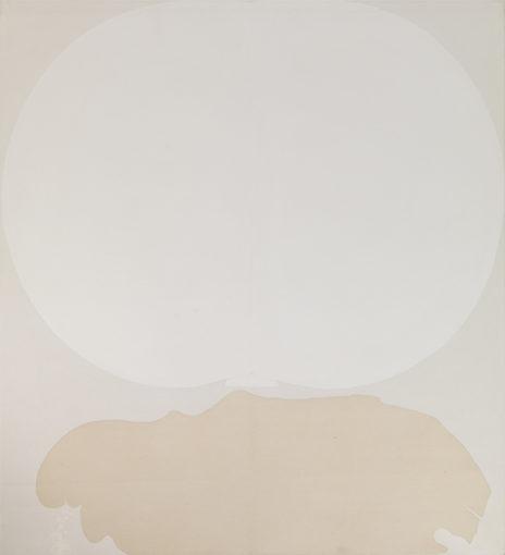 Duane Zaloudek, Milarepa IX, 1965, acrylic on canvas, 152 x 152 cm