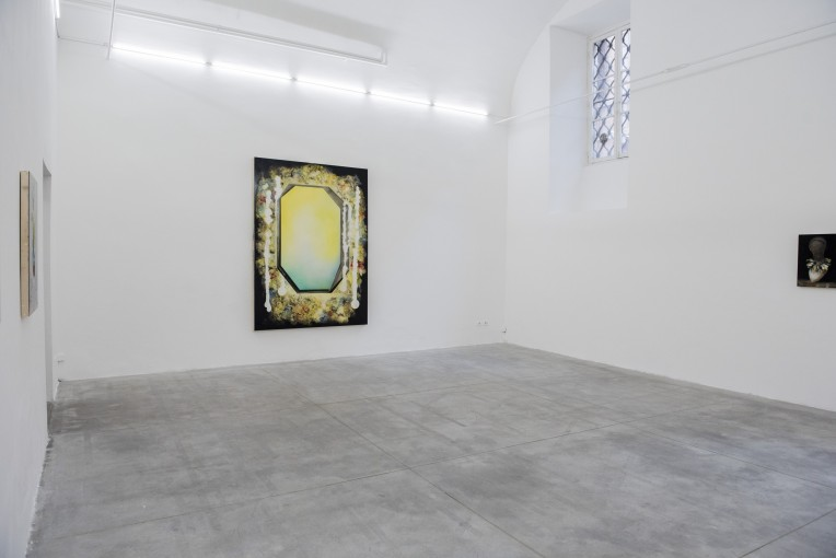 Benedikt Hipp, The educated monkey, 2015, installation view at Monitor, Rome
