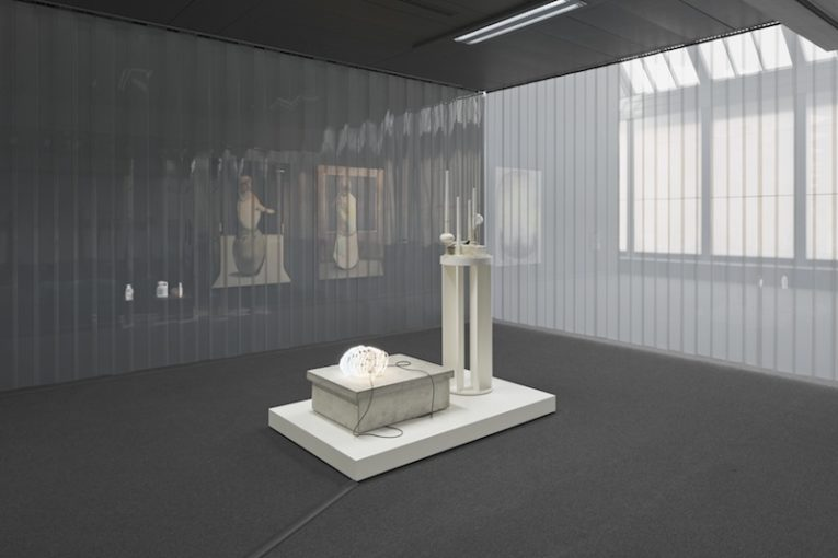 Benedikt Hipp, I couldn't believe my own eyes, nor my ears, 2015, installation view at Wilhelm-Hack-Museum, Ludwigshafen, DE