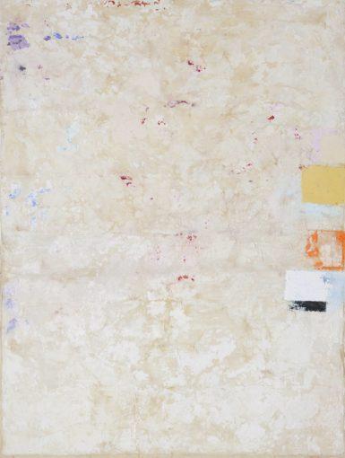 Strappo d'affresco, 2015, plaster, tarlatan and pigments on board, 200 x 150 cm