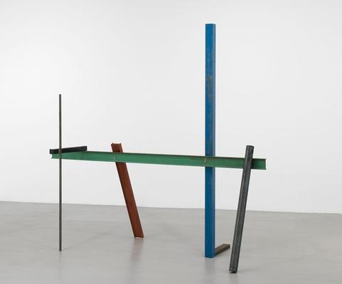 Eric Bainbridge, Greenline, 2011, Steel, 234 x 255 x 120 cm