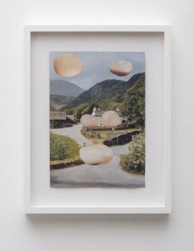 Eric Bainbridge, Untitled, 2009, collage on paper, 28,3 x 20 cm