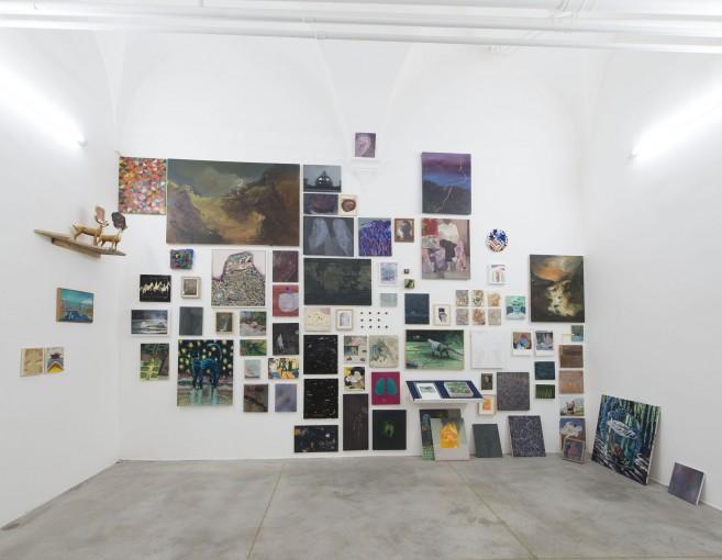 Fondazione Malutta at Monitor, Collezione Malutta + Black Market, 2017, exhibition overview
