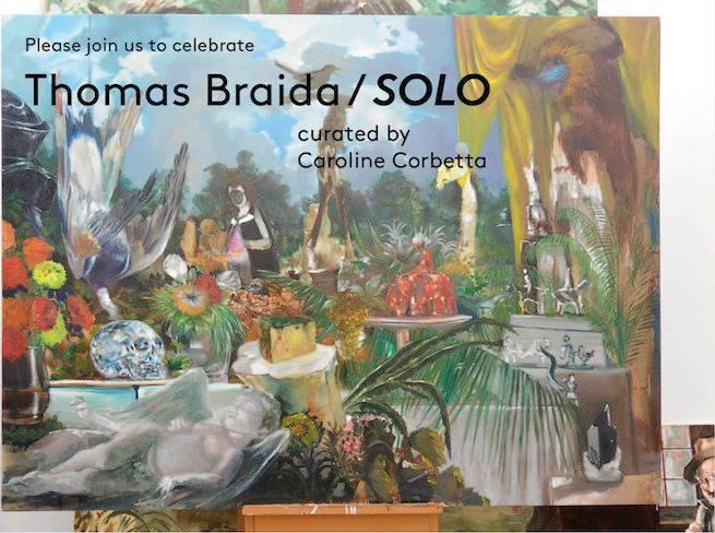 Thomas Braida, SOLO | Venezia, Palazzo Nani Bernardo
