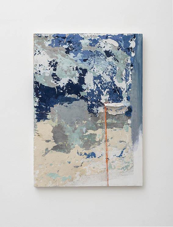 Franco Guerzoni, Edicola, 2017 70 x 50 cm Stucco, gesso, pigmenti su tavola / stucco, chalk, pigment on board